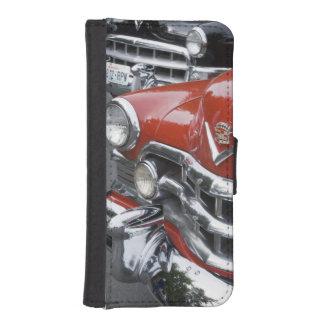 WA, Seattle, automóvil americano clásico Funda Tipo Billetera Para iPhone 5