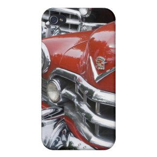 WA, Seattle, automóvil americano clásico iPhone 4 Funda