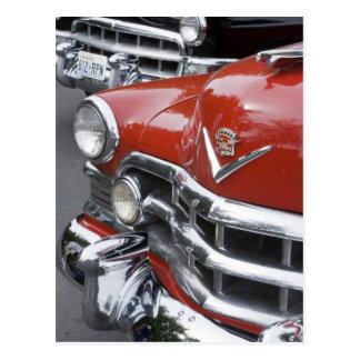 WA Seattle automóvil americano clásico Postal