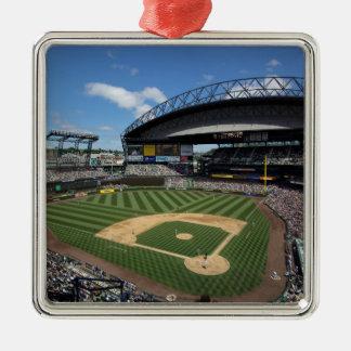 WA, Seattle, campo de Safeco, béisbol de los Adorno Cuadrado Plateado
