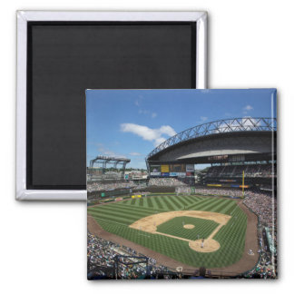 WA, Seattle, campo de Safeco, béisbol de los marin Imán Cuadrado
