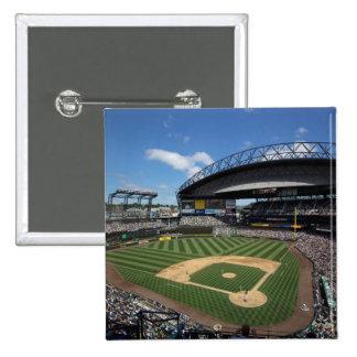 WA, Seattle, campo de Safeco, béisbol de los marin Pin Cuadrado