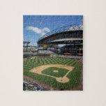WA, Seattle, campo de Safeco, béisbol de los marin Puzzle
