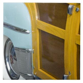 WA, Seattle, classic American automobile. 2 Ceramic Tile