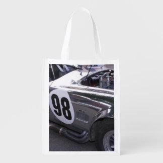 WA, Seattle, classic American automobile. 2 Grocery Bag