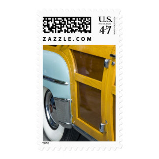 WA, Seattle, classic American automobile. 2 Postage
