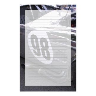 WA, Seattle, classic American automobile. 2 Stationery