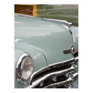 WA, Seattle, classic American automobile. 3 Postcards