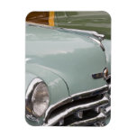 WA, Seattle, classic American automobile. 3 Rectangular Magnet