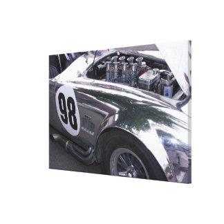 WA, Seattle, classic American automobile. Canvas Print
