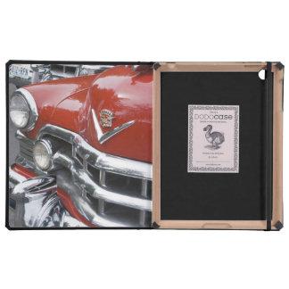 WA, Seattle, classic American automobile. iPad Cases