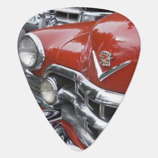 WA, Seattle, classic American automobile. Guitar Pick