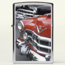 WA, Seattle, classic American automobile.