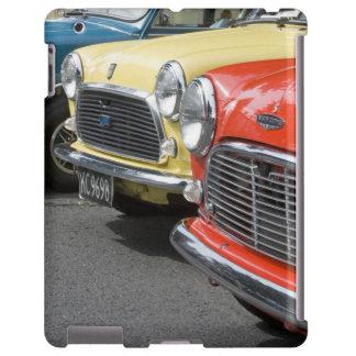 WA, Seattle, classic British automobile.
