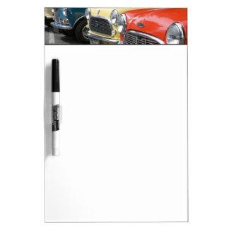WA, Seattle, classic British automobile. Dry-Erase Boards