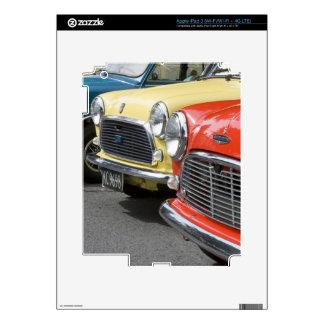 WA, Seattle, classic British automobile. iPad 3 Decals