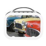 WA, Seattle, classic British automobile. Lunch Box