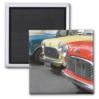 WA, Seattle, classic British automobile. Magnet