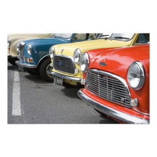 WA, Seattle, classic British automobile. Photo Print
