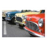 WA, Seattle, classic British automobile. Photographic Print