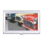 WA, Seattle, classic British automobile. Business Card Cases