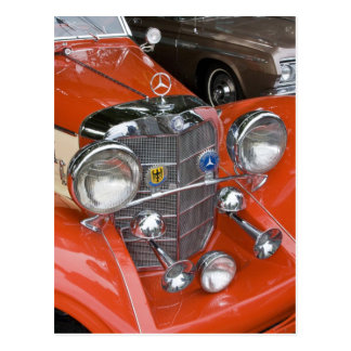 WA, Seattle, classic German automobile. Post Card