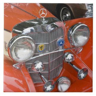 WA, Seattle, classic German automobile. Tile