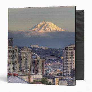 WA, Seattle, Mount Rainier from Kerry Park Binder