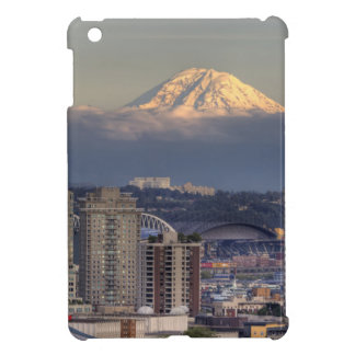 WA, Seattle, Mount Rainier from Kerry Park iPad Mini Covers