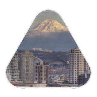 WA, Seattle, Mount Rainier from Kerry Park Speaker