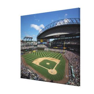 WA, Seattle, Safeco Field, Mariners baseball Canvas Print