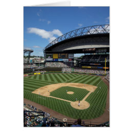 WA, Seattle, Safeco Field, Mariners baseball Card