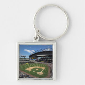 WA, Seattle, Safeco Field, Mariners baseball Keychain