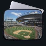 "WA, Seattle, Safeco Field, Mariners baseball Laptop Sleeve<br><div class=""desc"">COPYRIGHT Jamie &amp; Judy Wild / DanitaDelimont.com | US48 JWI3574.jpg | WA,  Seattle,  Safeco Field,  Mariners baseball game</div>"