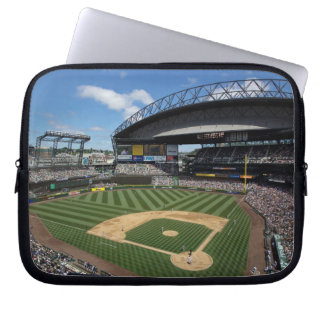 WA, Seattle, Safeco Field, Mariners baseball Laptop Computer Sleeve