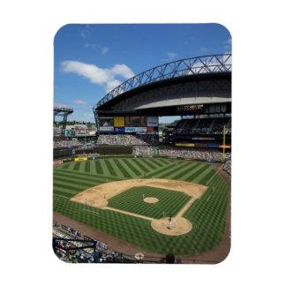 WA, Seattle, Safeco Field, Mariners baseball Magnet