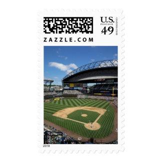 WA, Seattle, Safeco Field, Mariners baseball Stamp