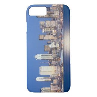 WA, Seattle, Seattle skyline and Elliott Bay, 2 iPhone 7 Case