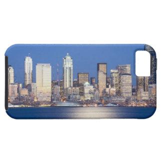 WA, Seattle, Seattle skyline and Elliott Bay, 2 iPhone SE/5/5s Case