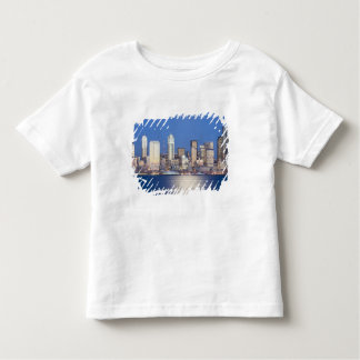 WA, Seattle, Seattle skyline and Elliott Bay, 2 Toddler T-shirt