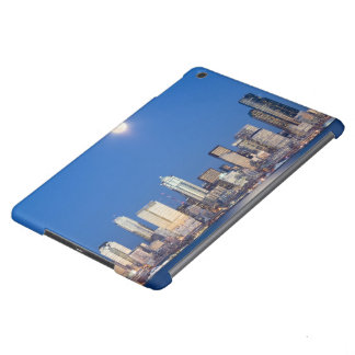WA, Seattle, Seattle skyline and Elliott Bay 3 Case For iPad Air