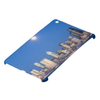 WA, Seattle, Seattle skyline and Elliott Bay 3 Case For The iPad Mini