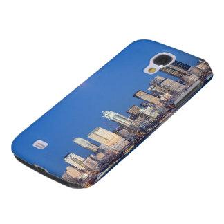 WA, Seattle, Seattle skyline and Elliott Bay 3 Galaxy S4 Case