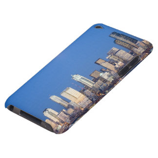 WA, Seattle, Seattle skyline and Elliott Bay 3 iPod Touch Case-Mate Case