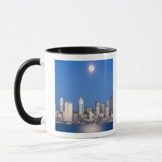 WA, Seattle, Seattle skyline and Elliott Bay 3 Mug