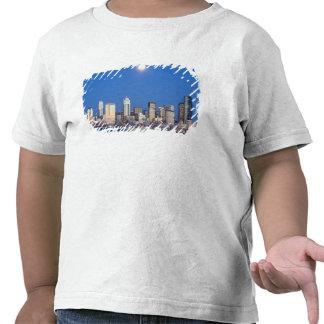 WA, Seattle, Seattle skyline and Elliott Bay 3 Shirt