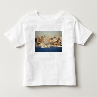 WA, Seattle, Seattle skyline and Elliott Bay Toddler T-shirt