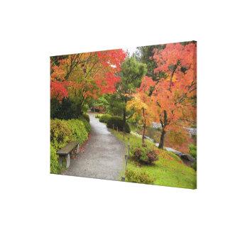 WA, Seattle, Washington Park Arboretum, 2 Canvas Print