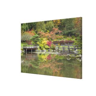 WA, Seattle, Washington Park Arboretum, 3 Canvas Print
