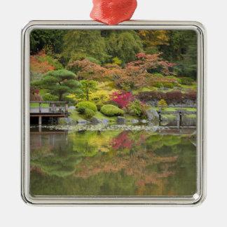 WA, Seattle, Washington Park Arboretum, 3 Metal Ornament